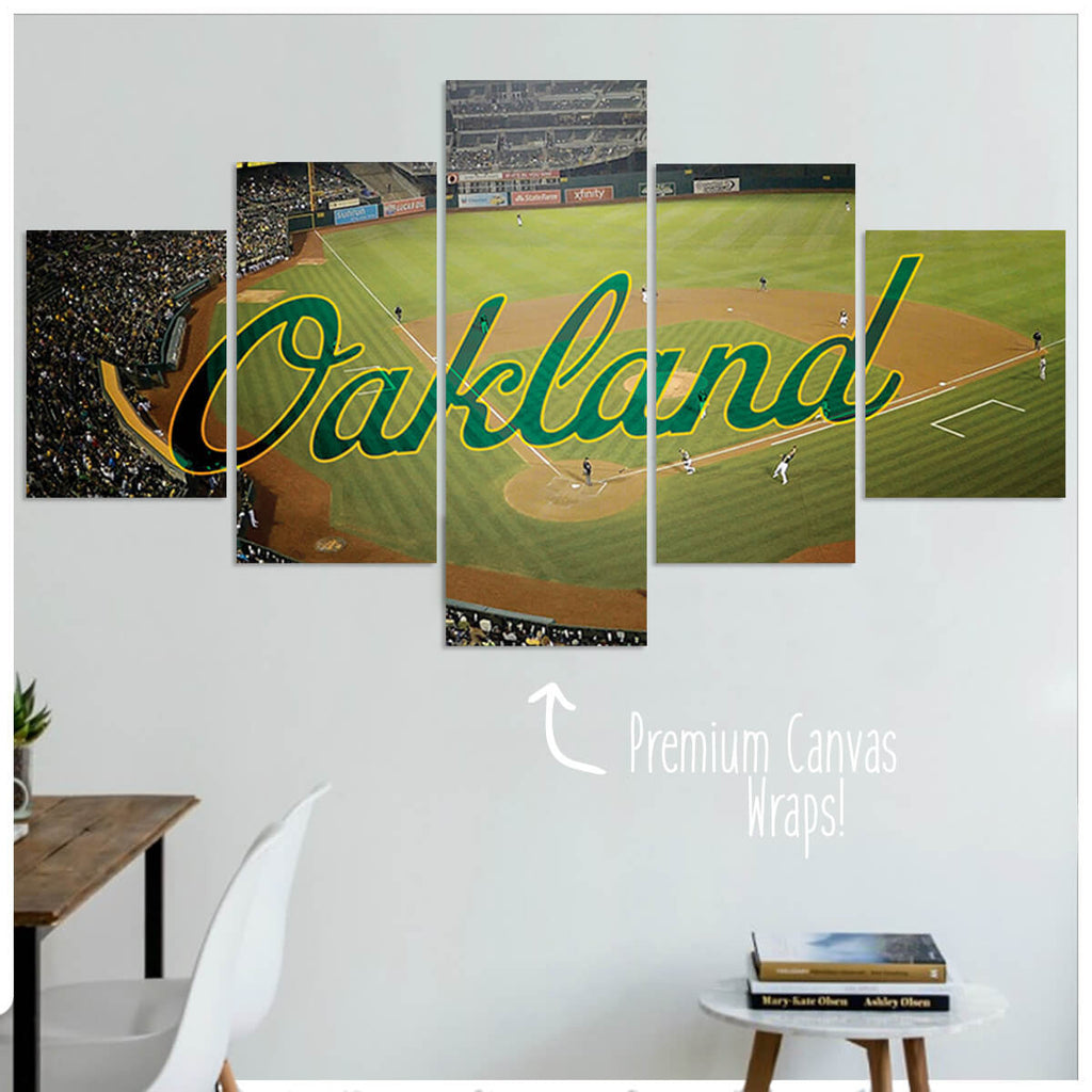 Oakland  - 5 Panel Premium Canvas Wraps