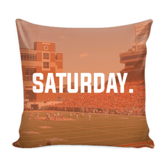 Stillwater Saturday Football Pillow Cover - societyofprints - Society of Prints - Pillows