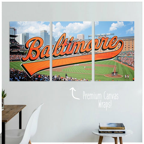 Baltimore Premium Canvas Wraps - societyofprints - Society of Prints - Canvas Wrap