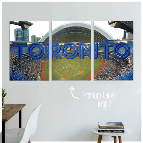 Toronto Premium Canvas Wraps - societyofprints - Society of Prints - Canvas Wrap