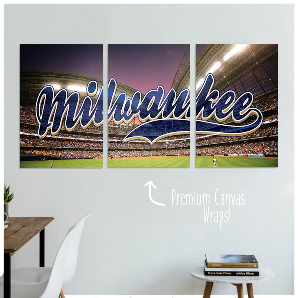 Milwaukee Premium Canvas Wraps - societyofprints - Society of Prints - Canvas Wrap