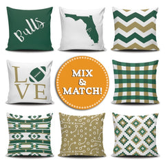 Tampa Mix & Match Pillow Covers - societyofprints - Society of Prints - Throw Pillow