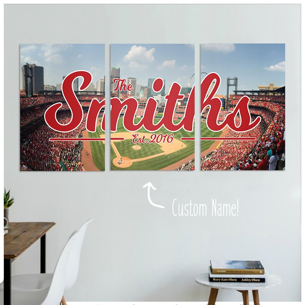 cardinals gifts, st louis cardinals gift, personalized gifts, home decor