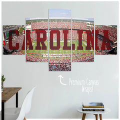 Carolina - 5 Panel Premium Canvas Wraps - societyofprints - Society of Prints - Canvas