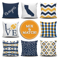 San Diego Mix & Match Pillow Covers - societyofprints - Society of Prints - Pillows