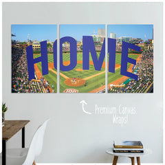 Chicago Home Premium Canvas Wraps - societyofprints - Society of Prints - Canvas Wrap