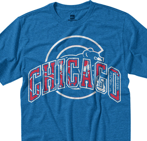 Chicago City Mash Up Tee - societyofprints - Society of Prints - shirts