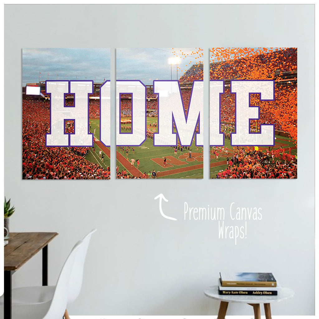 Clemson Premium Canvas Wraps - societyofprints - Society of Prints - Canvas Wrap