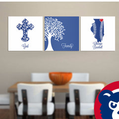 God Family Chicago Premium Canvas - societyofprints - Society of Prints -