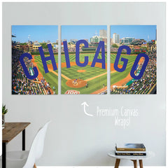 Chicago Premium Canvas Wraps - societyofprints - Society of Prints - Canvas Wrap