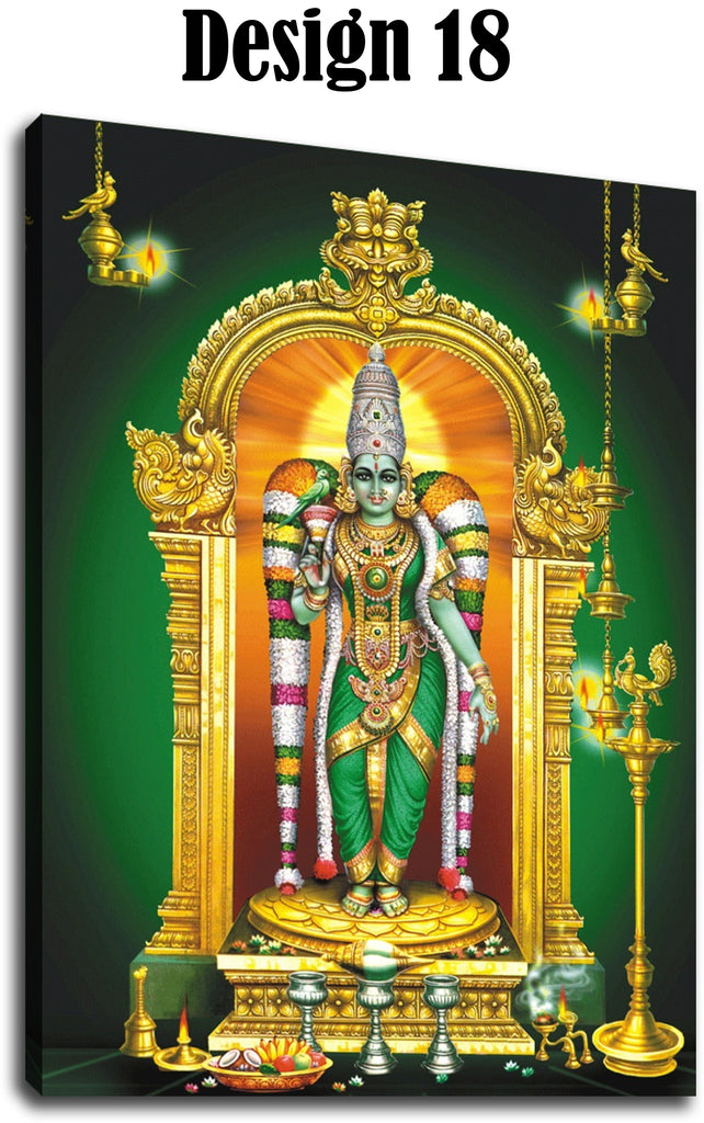 Goddess Meenakshi Canvas