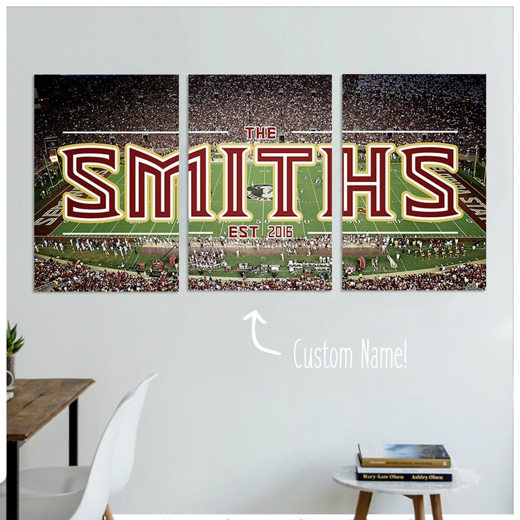 Tallahassee Custom Panoramic Canvas Set - societyofprints - Society of Prints -