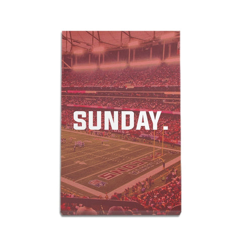 Atlanta Sunday Football Premium Canvas Wraps - societyofprints - Society of Prints - Canvas Wrap