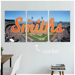 san francisco giants gifts, personalized gifts, home decor