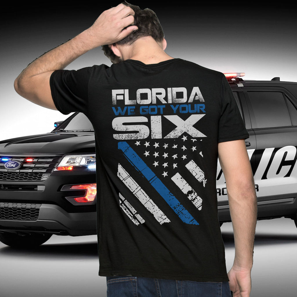 Police For Florida Fundraiser T-shirt