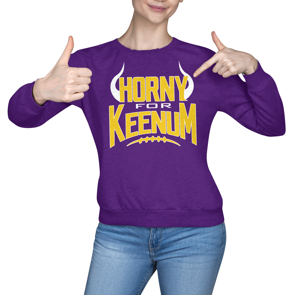 Minnesota - Horny For Keenum - societyofprints - Society of Prints -