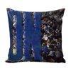 Image of Villanova Panoramic Stadium Pillow Covers - societyofprints - Society of Prints - Pillows