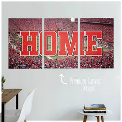 Nebraska Premium Canvas Wraps - societyofprints - Society of Prints - Canvas Wrap