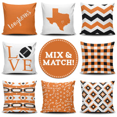 Texas Mix & Match Pillow Covers - societyofprints - Society of Prints - throw pillow