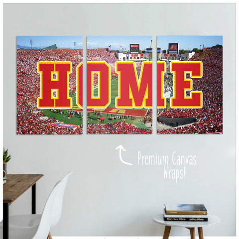 Los Angeles Premium Canvas Wraps