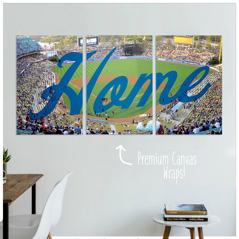 Los Angeles Home Premium Canvas Wraps - societyofprints - Society of Prints - Canvas Wrap