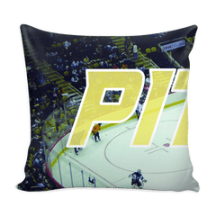 Pittsburgh Hockey Panoramic Stadium Pillow Covers