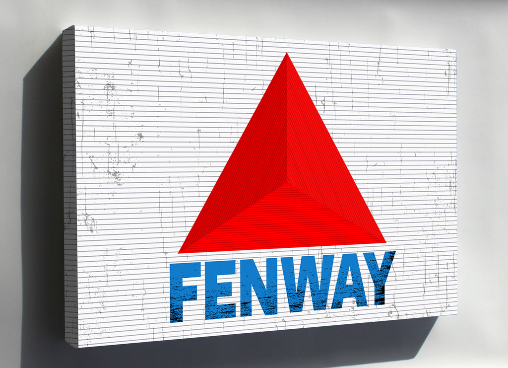 Boston - Limited Edition Fenway Canvas - societyofprints - Society of Prints -