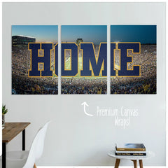 notre dame football gifts, notre dame gifts personalized, home decor
