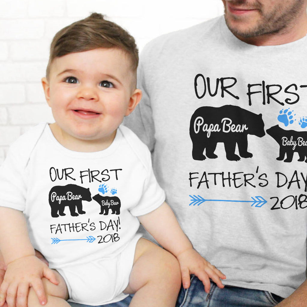 Father's Day Special - Our First Father's Day - societyofprints - Society of Prints - shirts