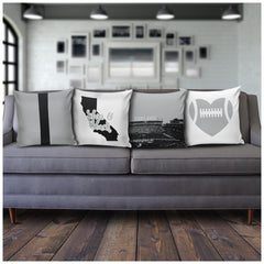 Oakland Stencil Pillow Covers - societyofprints - Society of Prints - Pillows