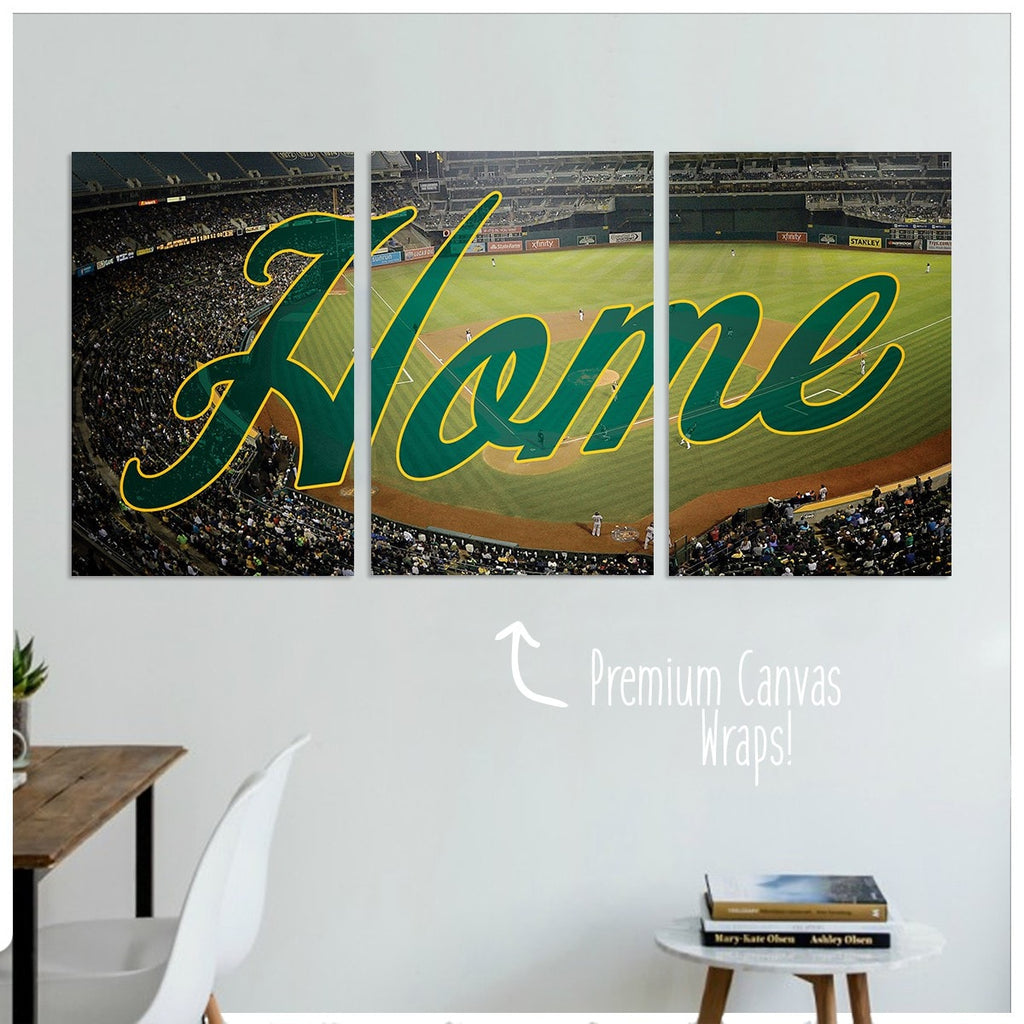 Oakland Home Premium Canvas Wraps - societyofprints - Society of Prints - Canvas Wrap