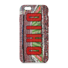 Ohio State Panoramic Phone Case - societyofprints - Society of Prints - Phone Cases