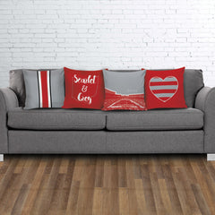 Ohio State Stencil Pillow Covers - societyofprints - Society of Prints -