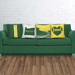 Oregon Stencil Pillow Covers - societyofprints - Society of Prints - Pillows