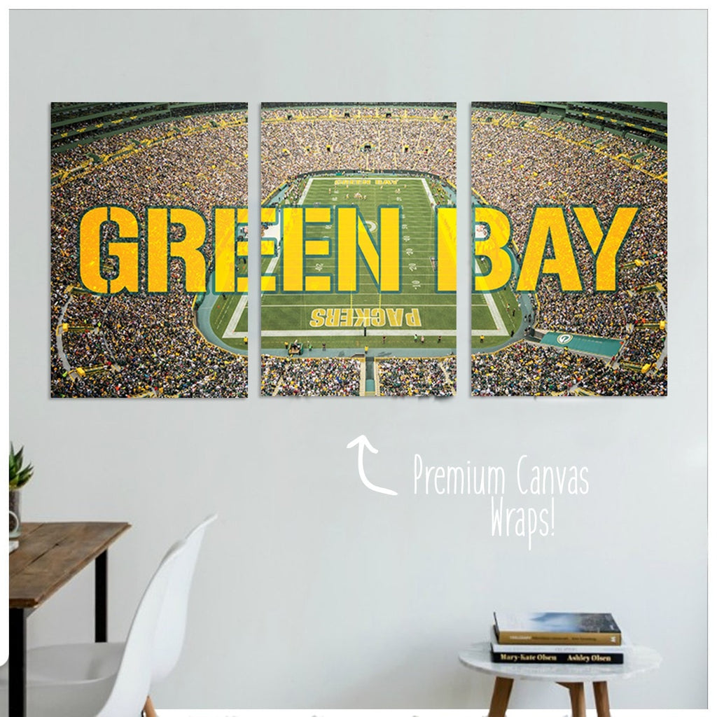 Green Bay Premium Canvas Wraps - societyofprints - Society of Prints - Canvas Wrap