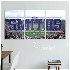 State College Custom Panoramic Canvas Set - societyofprints - Society of Prints -