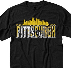 Pittsburgh City Mash Up Tee