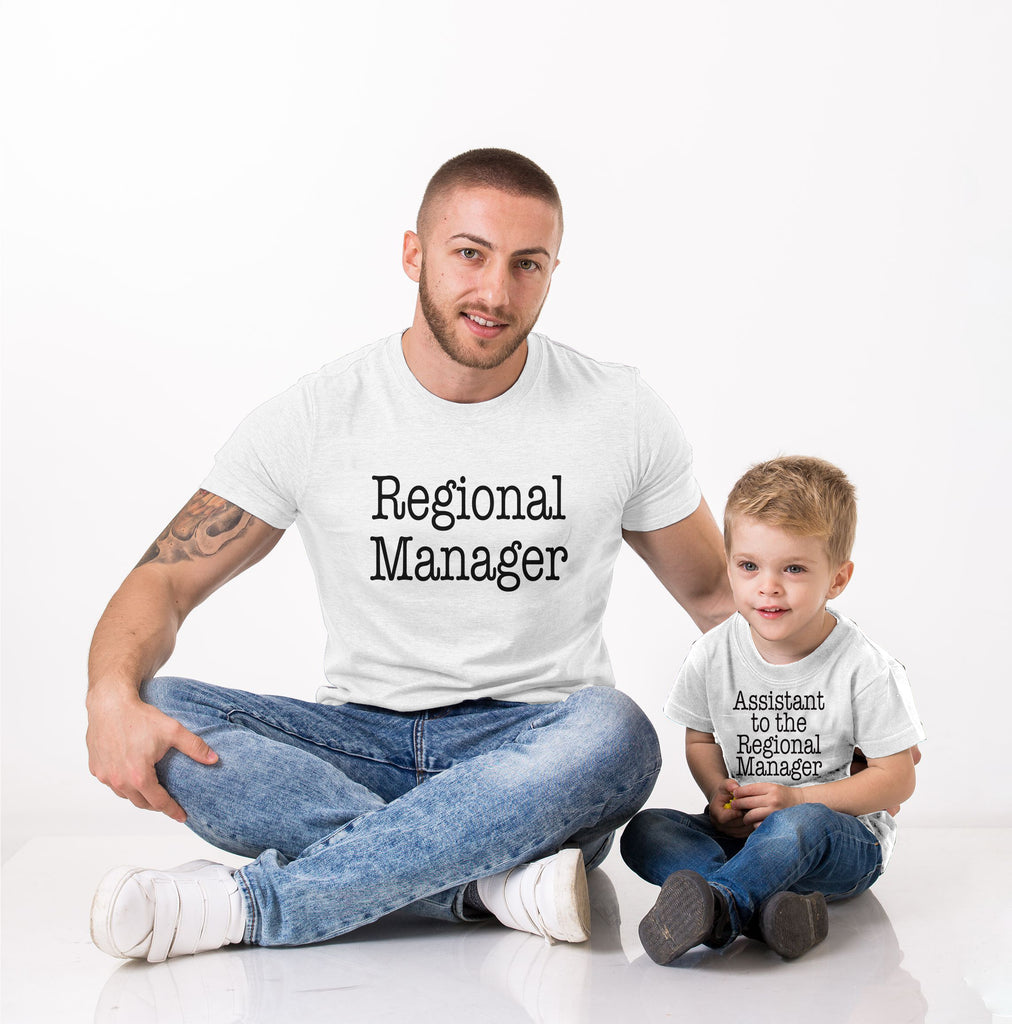Father's Day Special - Regional Manager - societyofprints - Society of Prints - shirts