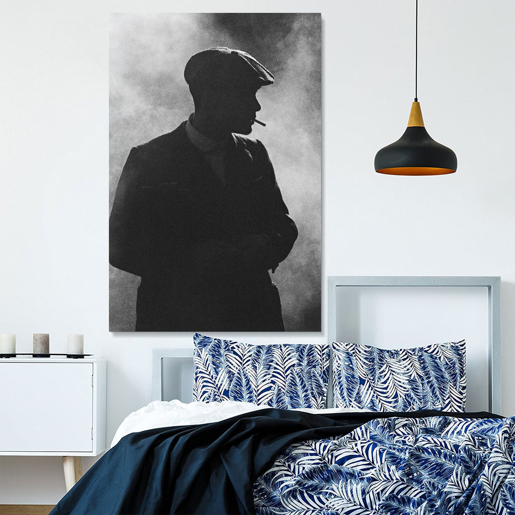 Tommy Shelby - Limited Edition Silhouette Canvas