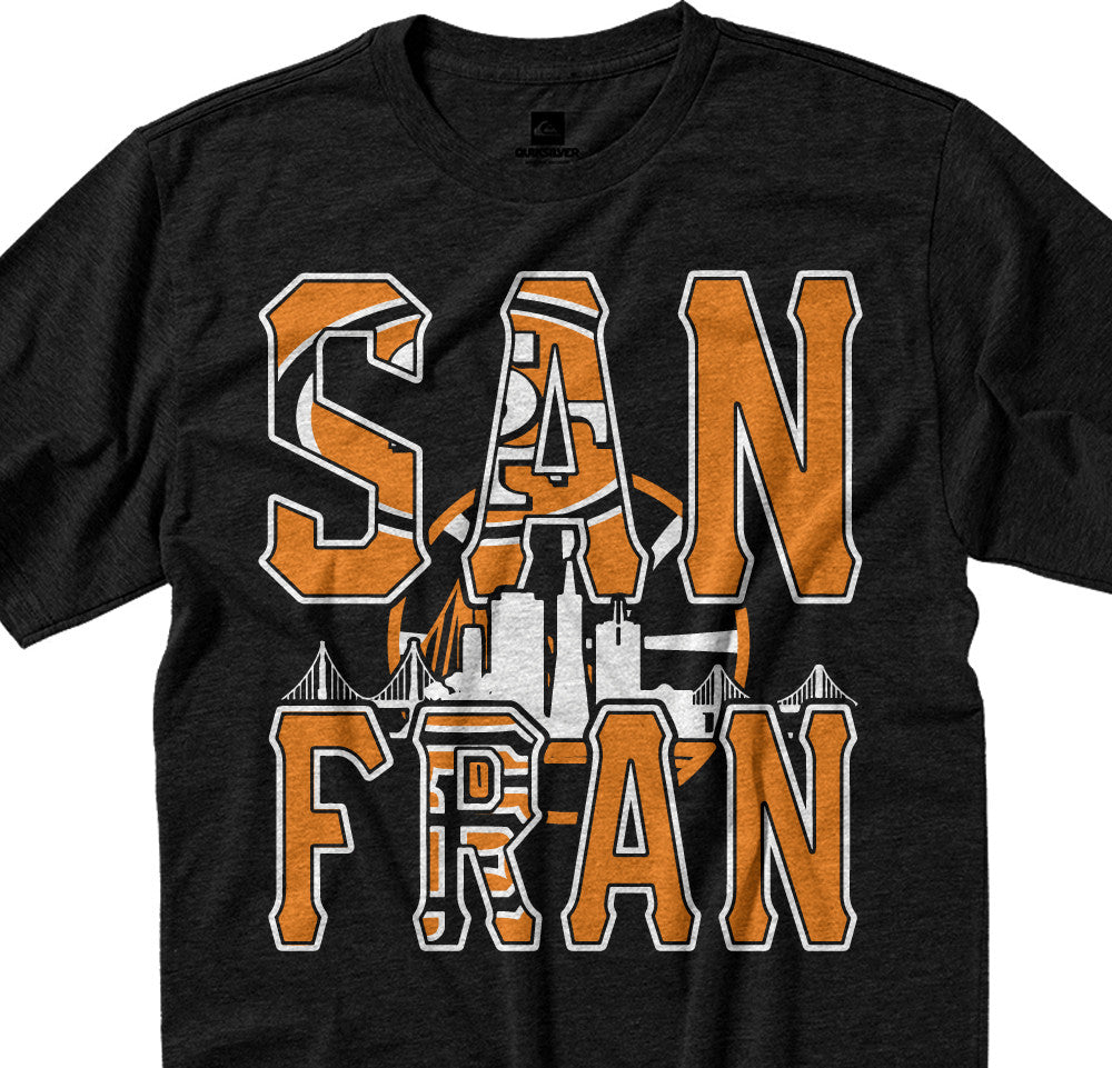 San Francisco City Mash Up Tee