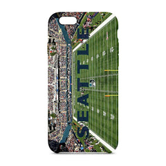Seattle Panoramic Phone Case - societyofprints - Society of Prints - Phone Cases