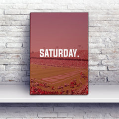 Stanford Saturday Football Premium Canvas Wraps - societyofprints - Society of Prints - Canvas Wrap