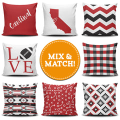 Stanford Mix & Match Pillow Covers - societyofprints - Society of Prints - Throw Pillow