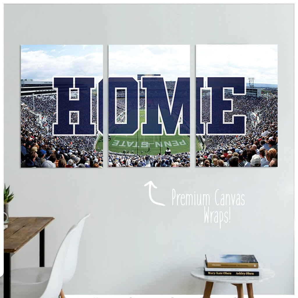 Penn State Premium Canvas Wraps - societyofprints - Society of Prints - Canvas Wrap