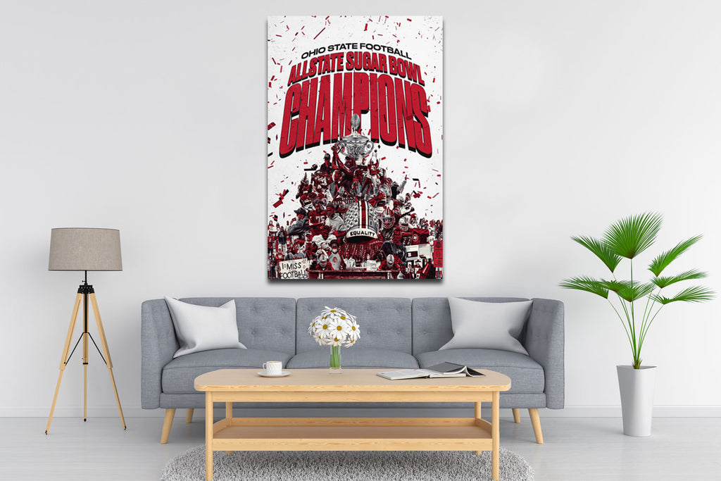 All State Sugar Bowl Champions Canvas