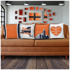 Syracuse Stencil Pillow Covers - societyofprints - Society of Prints - Pillows