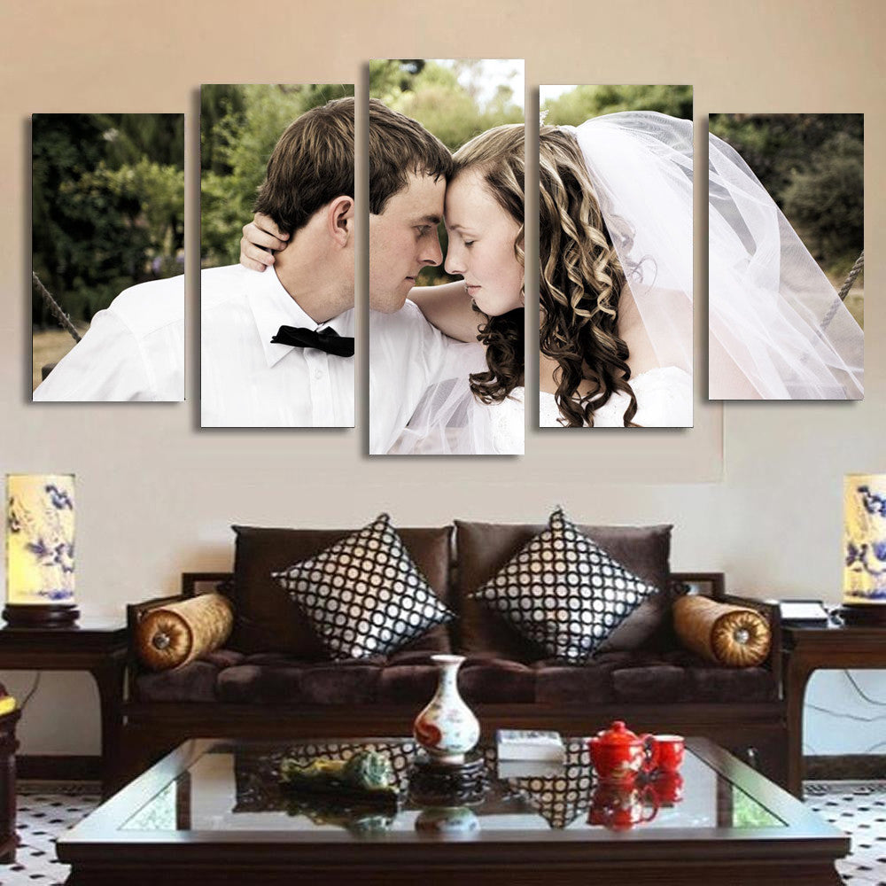 Custom 5-Panel Framed Canvas Art - societyofprints - Society of Prints - Canvas