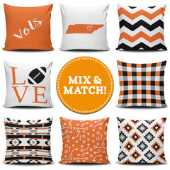 Tennessee Mix & Match Pillow Covers - societyofprints - Society of Prints - Throw Pillow