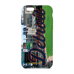 Detroit Panoramic Phone Case - societyofprints - Society of Prints - Phone Cases