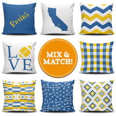 Los Angeles Mix & Match Pillow Covers - societyofprints - Society of Prints - Throw Pillow